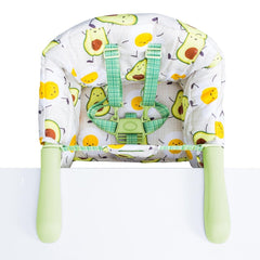 Cosatto Grub's Up Portable Highchair (Strictly Avocados) - top view
