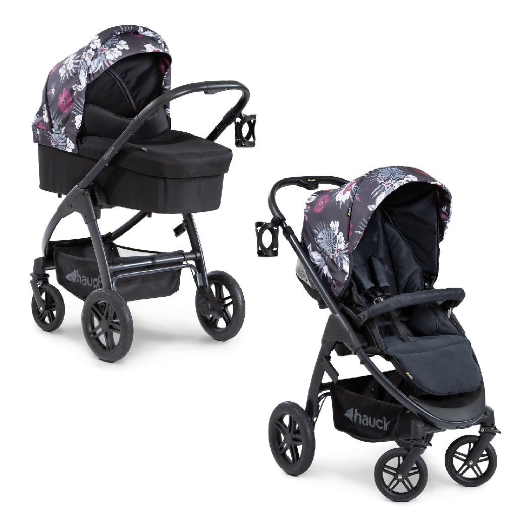 Hauck Saturn R Stroller & Carrycot Bundle (Wild Blooms)