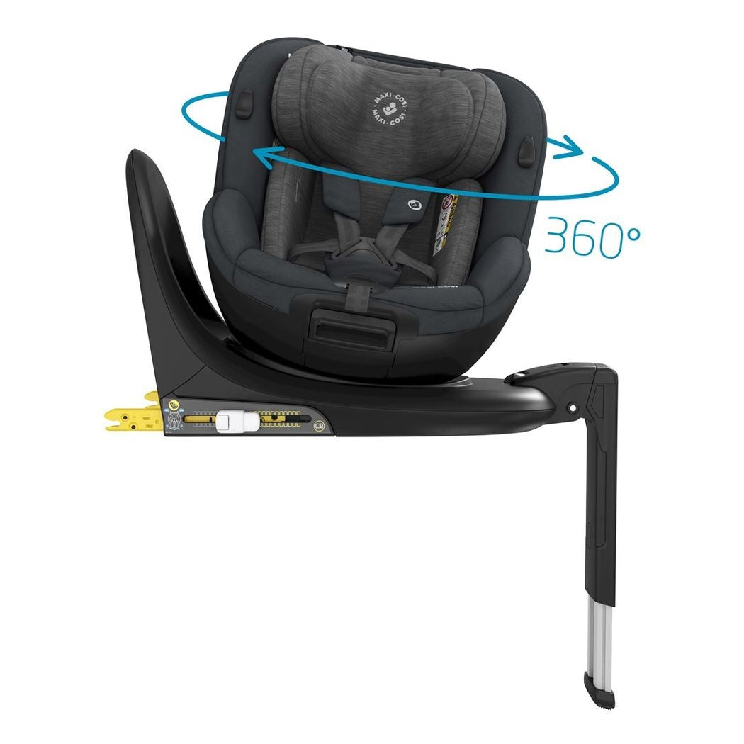 Maxi-Cosi Mica 360 Rotative i-Size Car Seat (Authentic Graphite)