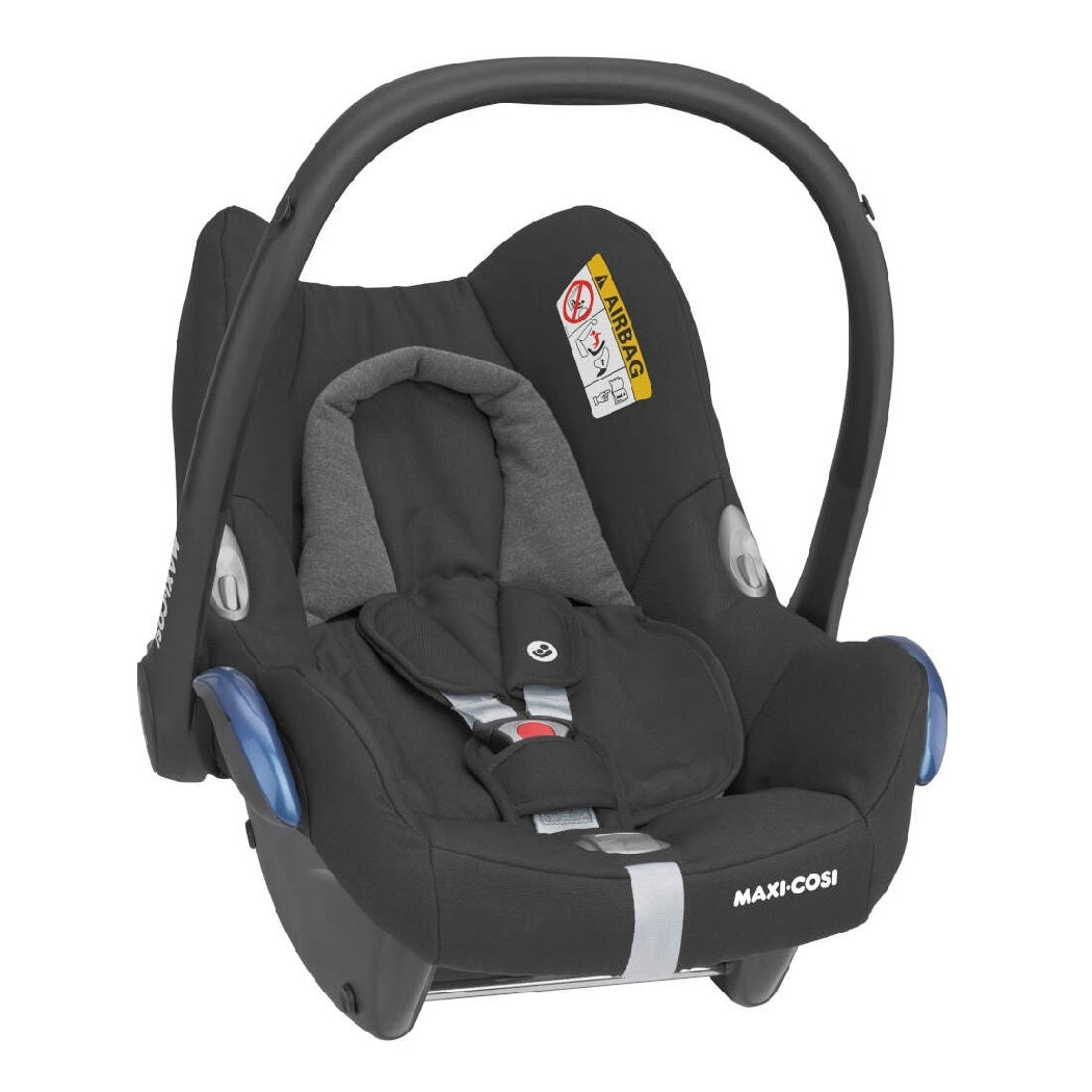 Maxi-Cosi CabrioFix Infant Carrier Car Seat (Essential Black)
