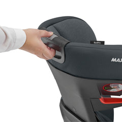 Maxi-Cosi RodiFix AirProtect Car Seat (Authentic Graphite) - rear view, showing how to raise the headrest