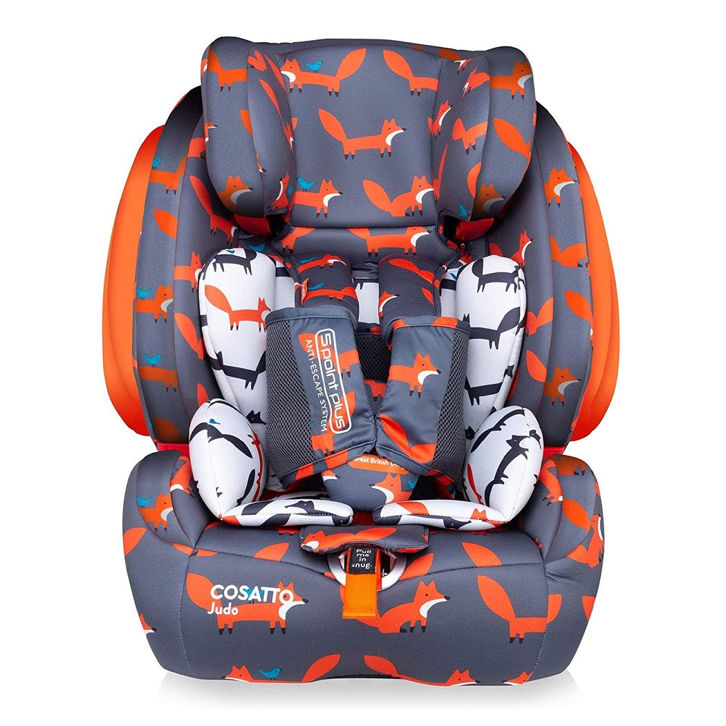 Cosatto Judo Group 123 ISOFIX Car Seat (Mister Fox)