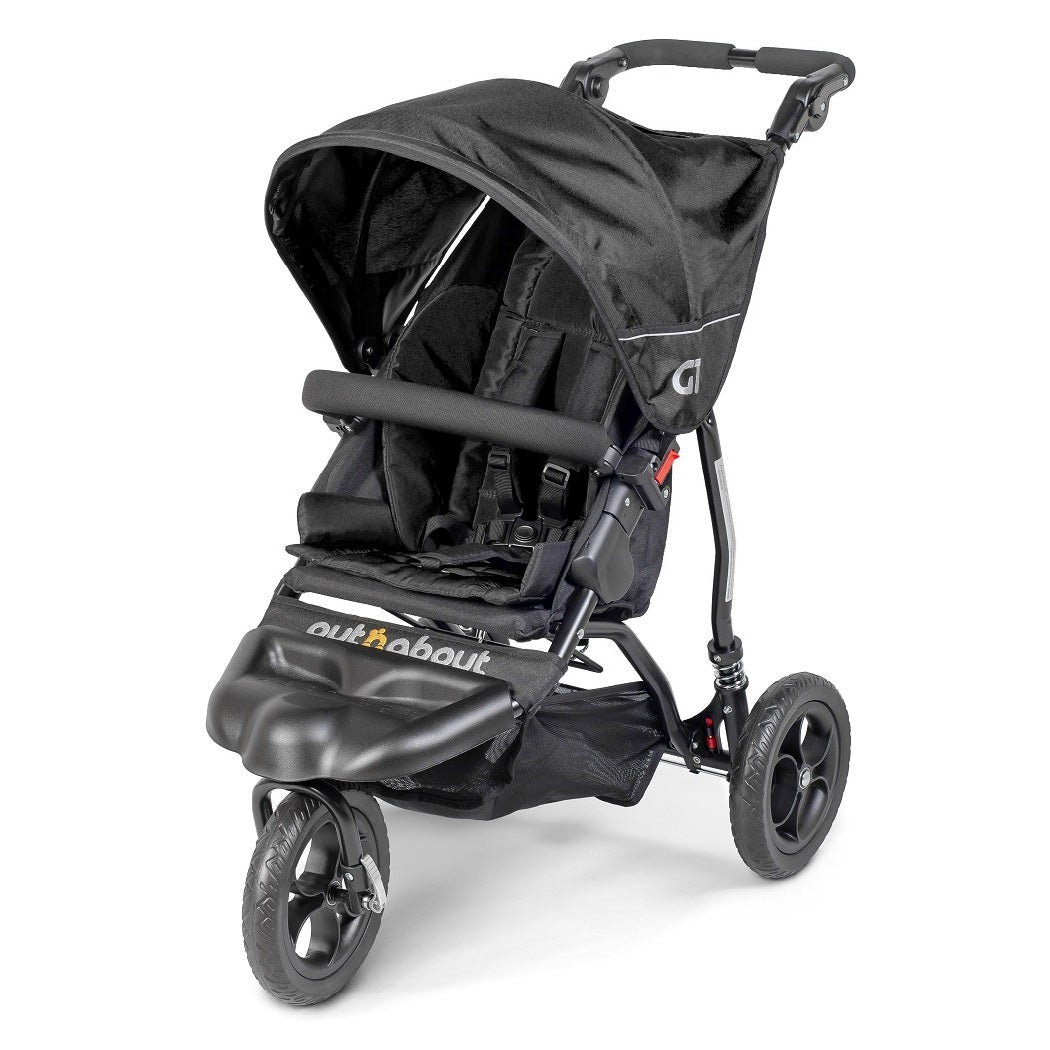 Out n About GT Single Baby Pushchair (Raven Black)
