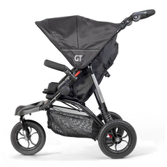 Out n About GT Single Pushchair (Raven Black) - side view