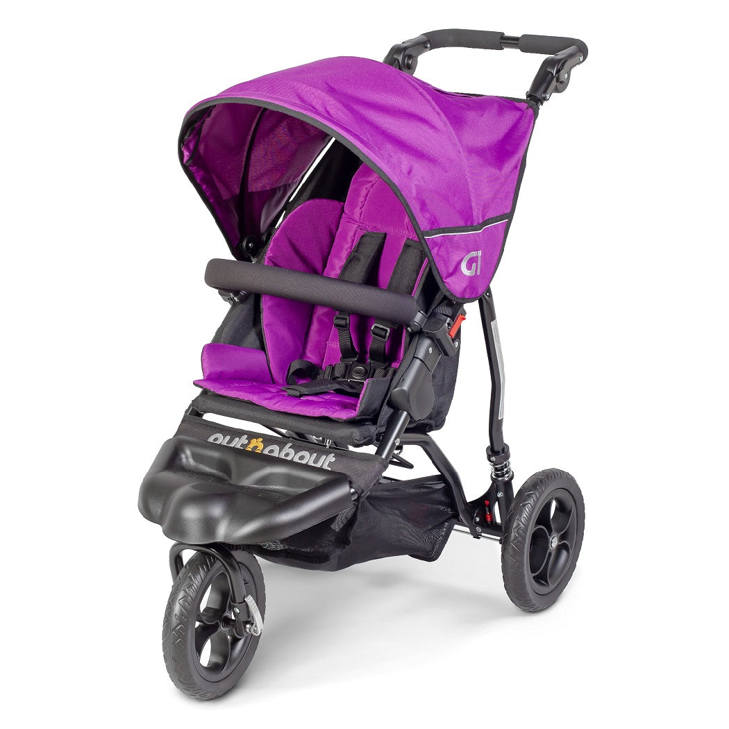 Out n About GT Single Baby Pushchair (Purple Punch)