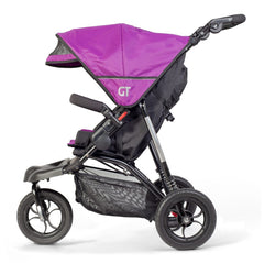Out n About GT Single Pushchair (Purple Punch) - side view