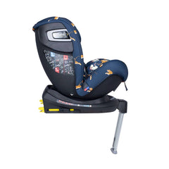 Cosatto All In All Rotate ISOFIX Car Seat - Group 0+123 (On The Prowl) - side view, shown here in forward-facing mode