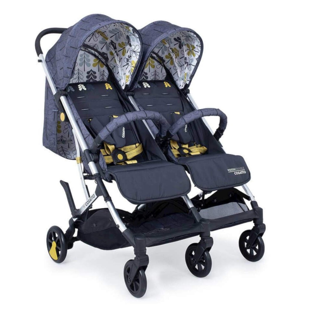 Cosatto Woosh Double Stroller (Fika Forest)