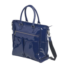 iCandy Verity Zip Tote Bag (Royal) - quarter view, shown here with its adjustable and removable strap