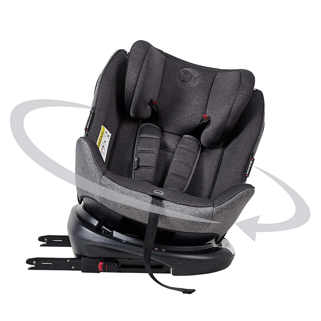 MyChild Chadwick ISOFIX Car Seat - Group 0123 (Black/Grey)