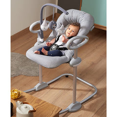 BEABA Up & Down Bouncer III with Toy Arch Bundle - liefstyle image
