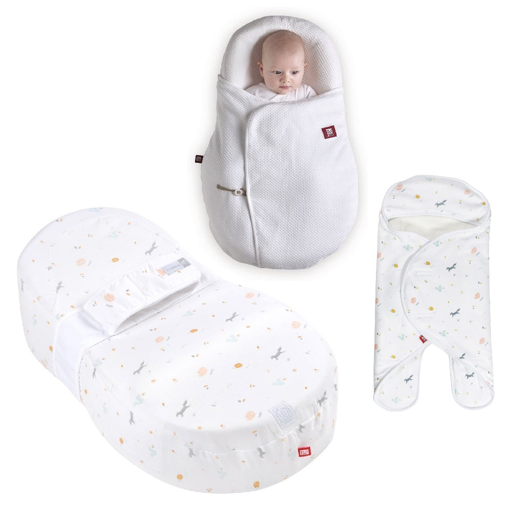 Red Castle Cocoonababy Bundle with 1.0Tog Cocoonacover & Babynomade (Happy Fox)