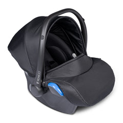 Venicci Tinum 3-in-1 Travel System (Stylish Black SE) - showing the included car seat