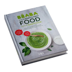 BEABA Neo 4-in-1 Babyfood Bundle - showing the included recipe book