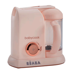 BEABA Solo 4-in-1 Babyfood Bundle (Rose Gold) - showing the Babycook Solo machine