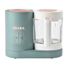 BEABA Babycook Neo (Eucalyptus) - showing the machine without its stainless steel basket