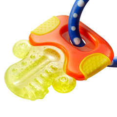 Nuby Icy Bites Teether Keys (Pink) - showing one of the key-shaped teethers