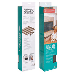 Prince Lionheart Fireplace Edge Guard Cushions with Corners (Neutral) - showing the cushions in their packaging