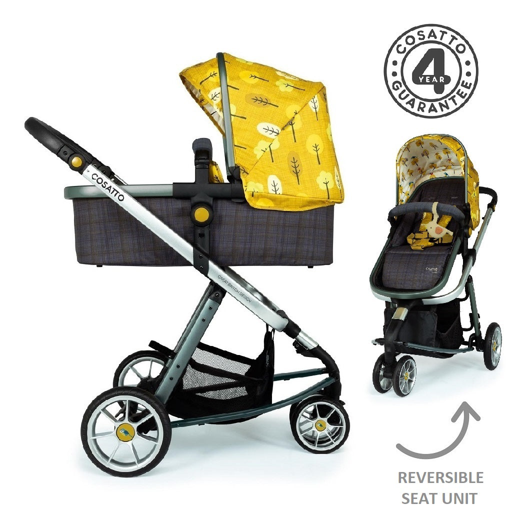 Cosatto Giggle 3 Pram & Pushchair (Spot The Birdie)