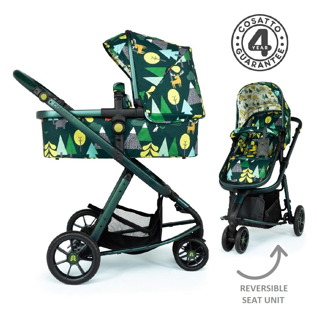 Cosatto Giggle 3 Pram & Pushchair (Into The Wild)