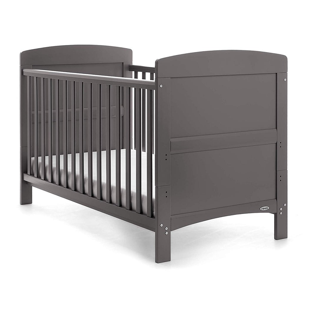 Obaby Grace Cot Bed (Taupe Grey)