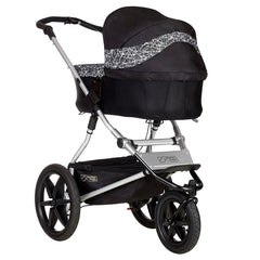 MB Terrain showing optional Carrycot Plus in Graphite as fitted