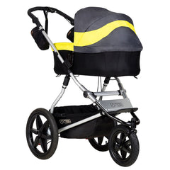 MB Terrain showing optional Carrycot Plus in Solus as fitted