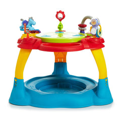 MyChild Twizzle Activity Centre (Brights) - front view, showing without the bouncing footpad