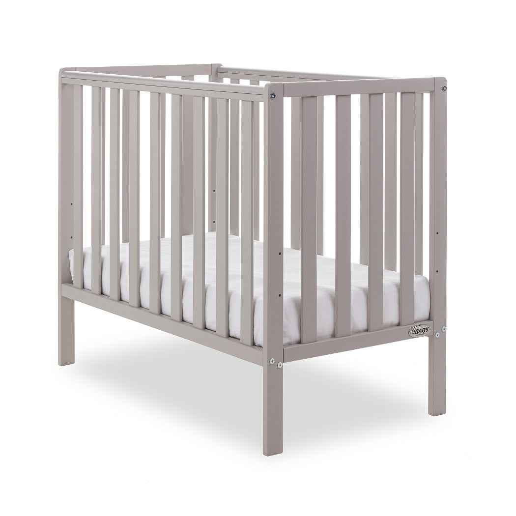 Obaby Bantam Space Saver Cot (Warm Grey)