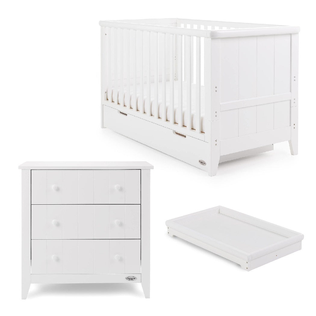 Obaby Belton 2 Piece Room Set (White)