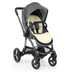 egg2 Luxury Bundle (Jurassic Grey) - showing the stroller in forward-facing mode
