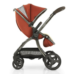 egg2 Luxury Bundle (Paprika) - showing the ventilation panel/viewing window in the stroller`s hood