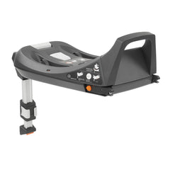 egg Shell i-Size ISOFIX Base - showing its support leg and installation guide