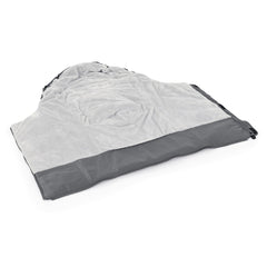 egg2 Luxury Bundle (Jurassic Grey) - showing the footmuff`s interior fleece lining
