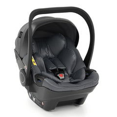 egg Shell i-Size Car Seat (Jurassic Grey) - shown here with its newborn insert