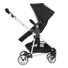 MyChild Floe Convertible Stroller (Silver Star) - side view, shown here as the pushchair in parent-facing mode
