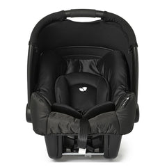 Joie Gemm Group 0+ Infant Car Seat (Black Carbon) - front view