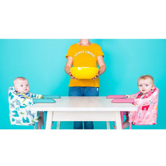 Cosatto Grub's Up Portable Highchair (Strictly Avocados) - lifestyle image