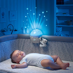 Chicco Next 2 Stars Cot Projector (Neutral) - lifestyle image