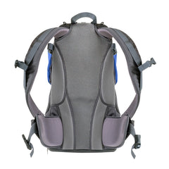 Phil & Teds Parade Baby Carrier (Blue/Grey) - rear view