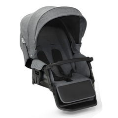 BabyStyle Prestige3 Classic Pram & Pushchair Set (Chrome/Misty Grey) - showing the reversible pushchair seat unit