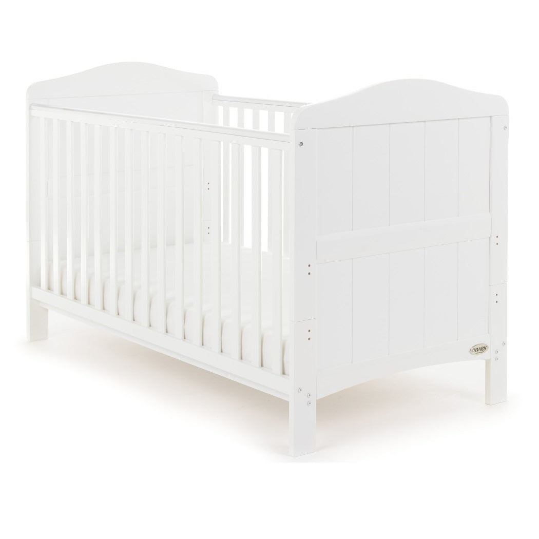 Obaby Whitby Cot Bed (White)