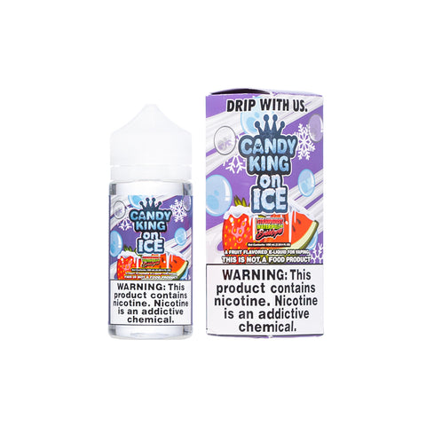 Candy King on Ice - Strawberry Watermelon Bubblegum