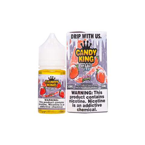 Candy King on Salt Iced - Belts Strawberry