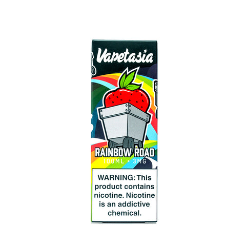 RAINBOW ROAD - VAPETASIA - 100ML