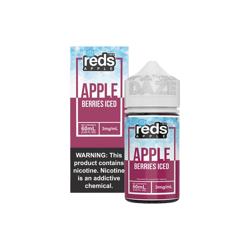 Reds E-Juice - Apple Berries Iced
