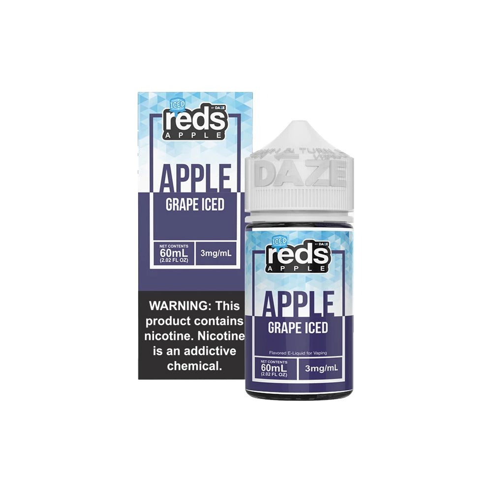 Reds E-Juice - Apple Grape Iced