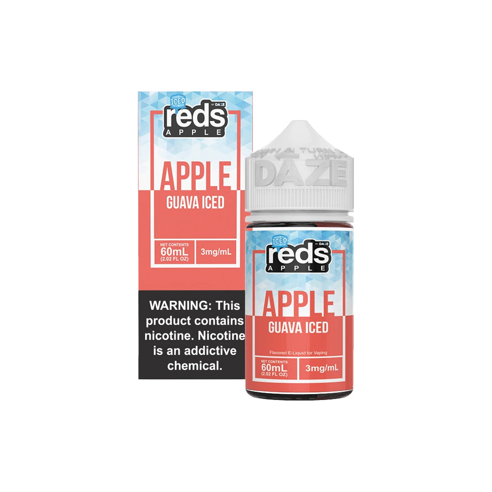Reds E-Juice - Apple Guava Iced
