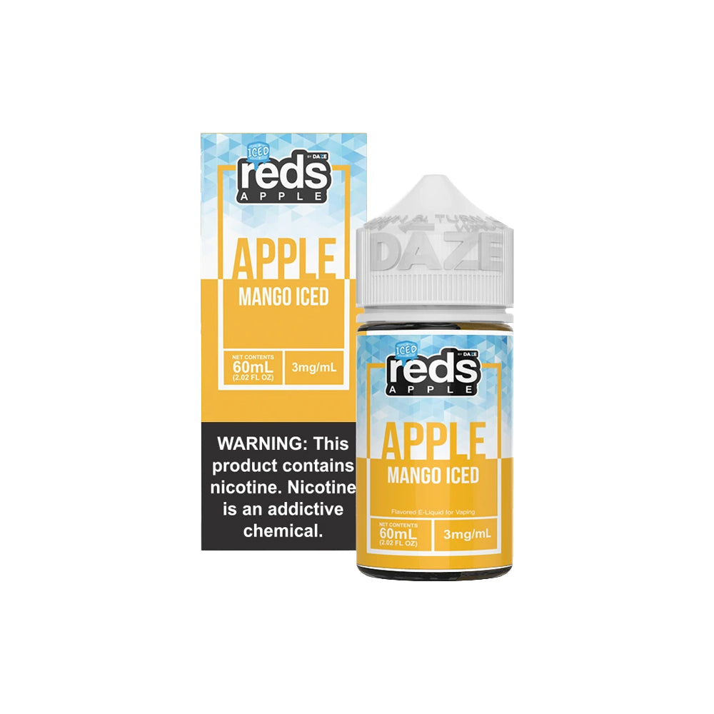 Reds E-Juice - Apple Mango Iced