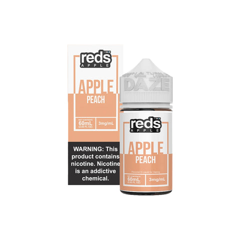 Reds E-Juice - Apple Peach Iced